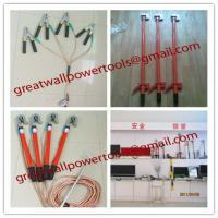 China new type ground rod+copper wire+hook,low price Earth Rod,Earthing Rod on sale