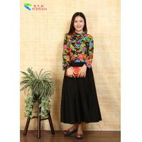Buy cheap Breathable Ladies Cotton Clothing Modified Vintage Cheongsam Shirt Double Layer Quilting product