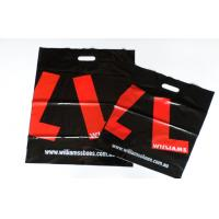 Buy cheap Black and Red LDPE / HDPE Plastic Bags Recyclable / UV Printing product