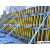 Buy cheap Easy-to-assemble Wall Formwork Systems / Panels With Steel Walers and Wood Girder H20 product