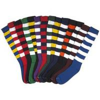 Buy cheap Soccer Socks Made of cotton with Tag on top and Toe product