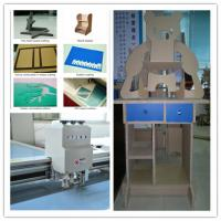 Buy cheap numerical control flute paper board box mock up cutting machine product