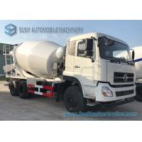 Buy cheap 4M3 Dongfeng Concrete Mixer Truck  3 - 7cubic Cement With Opitional Colors product