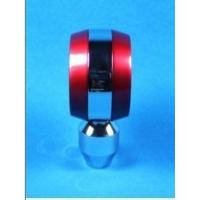 Moderate Red / Black Racing Gear Knob , 5 Speed Gear Shifter Knobs
