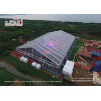 Buy cheap 50M Outdoor Party Tents with Clear Top Roof Cover For International WBC Boxing product