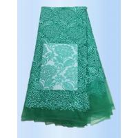 Buy cheap African Lace Fabric 2017 High Quality Lace Peach Tulle Styles Embroidery  Laces for Wholesale with different color product