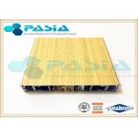 Buy cheap Wood Imitation Modern Honeycomb Door Panels With All Edges Sealed Waterproof product