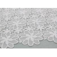 Buy cheap Floral Poly Dying Lace Fabric Guipure French Venice Lace African Lace Dress Fabric product