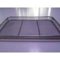 Buy cheap Factory Outlet Square Round Edge Flat Mesh Basket product
