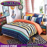 Buy cheap 1 Duvet Cover 2 Pillowcases 1 Flat Sheet Leasure Theme Colors Microfiber Bedding product