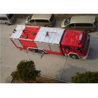 Buy cheap Heavy Duty Foam Fire Truck Maximum Allowable Load 34000KG With Electric Steering Box product