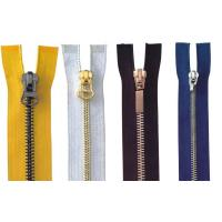 Buy cheap 4# Close End Auto Lock For Pants Brass Y Teeth Metal Zippers , jean jackt cover product