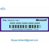 Buy cheap Product Key Code for Windows 10 , Windows 10 Pro Original Product Key 64 Bit product