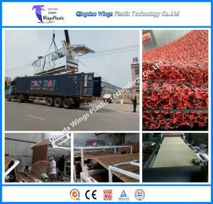 Buy cheap PVC Coil Car Capet Mat Extrusion Machine PVC Coil Mat Production Line product