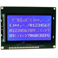 WLED Backlight Type Graphic Display Module , Serial Signal Transflective LCD Module