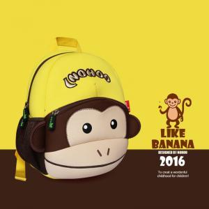 Buy cheap Enviromental Friendly Cute Toddler Backpacks Monkey 30.5*23*10.5cm product