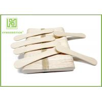 Buy cheap 94Mm Ice Cream Wooden Sticks , Ice Cream Distributor Hot Stamping Logo product