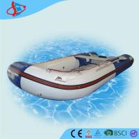 Blue Huge Banana PVC Inflatable Boats Security For Swimming Pool