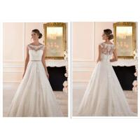 Buy cheap Luxury Long Train A Line Style Wedding Dresses For Bridal Fashionable product
