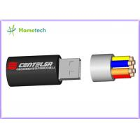 Buy cheap Cartoon USB Flash Drive / 3D Cable Cartoon USB Flash Drive for full capacity , cheaper price product