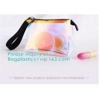 Custom Logo Shiny Holographic Cosmetic Bag Sets,Cosmetic Makeup Bag,Cosmetic Bag Travel,Fashion Accessories Holographic
