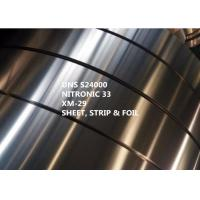 Buy cheap Stainless Steel Nitronic 33 Special Alloys For Medical With Yield Strength 469MPa product