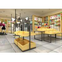 Buy cheap High Class Underwear Display Stand Racks For Cloth Shop Wood Material product
