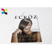 Buy cheap Hair Care Items Printed Carrier Bags With White Handle In CMYK Color Eco - Friendly product