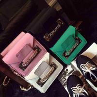 China 2015 Spring Hot Sale Women Satchel Handbag Shoulder Purse PU Leather Chain Bag Multi Color on sale
