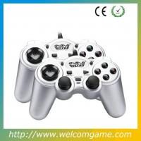 Buy cheap double usb dual shock vibration game controller for pc product