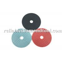 Buy cheap Diamond Grit Polishing Pads ISO TUV 4 Inch Buffing Pads Working With Water product