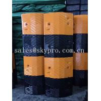 Buy cheap Reflective rubber speed hump Molded Rubber Products road speed ramp product