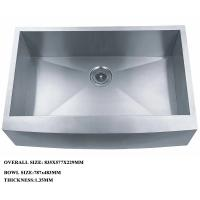 Buy cheap Stainless Steel Kitchen Sink And Portable Sink With One Bowl for luxury kitchen product