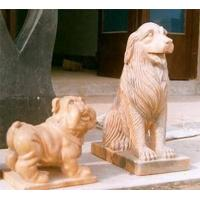 China Stone Carving, Marble Statue,Animal Sculptures Dog on sale