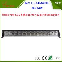 Buy cheap 360w 25200lm three row LED work light bar with spot, flood or combo beam types for choice product
