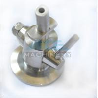 Manual Aseptic Sample Valve Food Grade Stainless Steel Sanitary Wine Sample