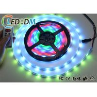 Buy cheap WS2811 IC Controlled Addressable LED Strip Lights 12V 5050 RGB Digital LED Tape product