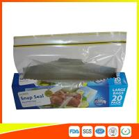 Buy cheap Snap Seal Reusable Sandwich Bags For Coles Supermarket Large Size 35*27cm product