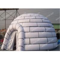 China Family 5m Circular Diam Big Inflatable Tent With LOGO Digital Printed on sale