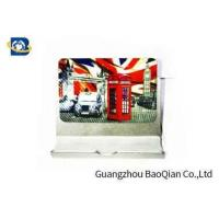 Buy cheap PET Fridge Lenticular Magnet Souvenir 4 Color 3D UV Printing 0.45mm Thickness product