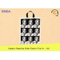 Low MOQ die cut handle bags excellent printing quality short delivery time