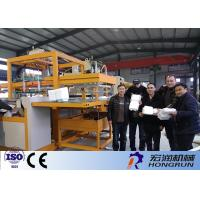 China PLC Control Disposable Food Containers Machine Equipment With Large Forming Area on sale