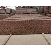 Buy cheap Polished Honed Maple Leaf Red Granite Stone Tiles For Wall product