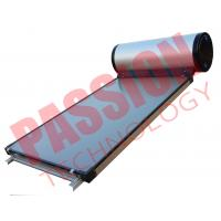 Buy cheap Flat Plate Collector Solar Water Heater / Thermal Hot Water Heater Direct Plug Connection product