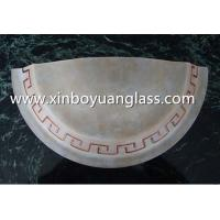 Buy cheap Half-cut Centrifugal glass wall lampshades product