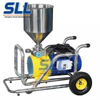 Buy cheap Stainless Portable Wall Coating Mortar Spraying Machine Flow Rate 12L/Min product