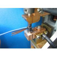 Electric Motor Stator Lead Wire Tube Automatic Fusing Machine ISO / SGS  Audit