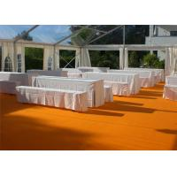 Buy cheap Restaurant Tent With Large Canopies, Clear Outdoor Event Tents With Transparent PVC Roof from Wholesalers