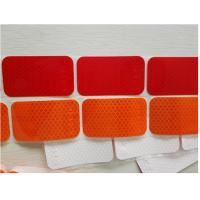 Buy cheap Segmented Reflective Conspicuity Tape , Solid Red Amber Reflective Sticker Custom Printed SAE product
