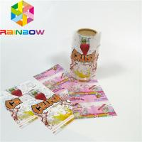 Buy cheap Custom Printing Shrink Sleeve Labels Plastic PET/PVC Material Glossy Lamination Surface product